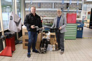 IAVF übergibt drei Motoren