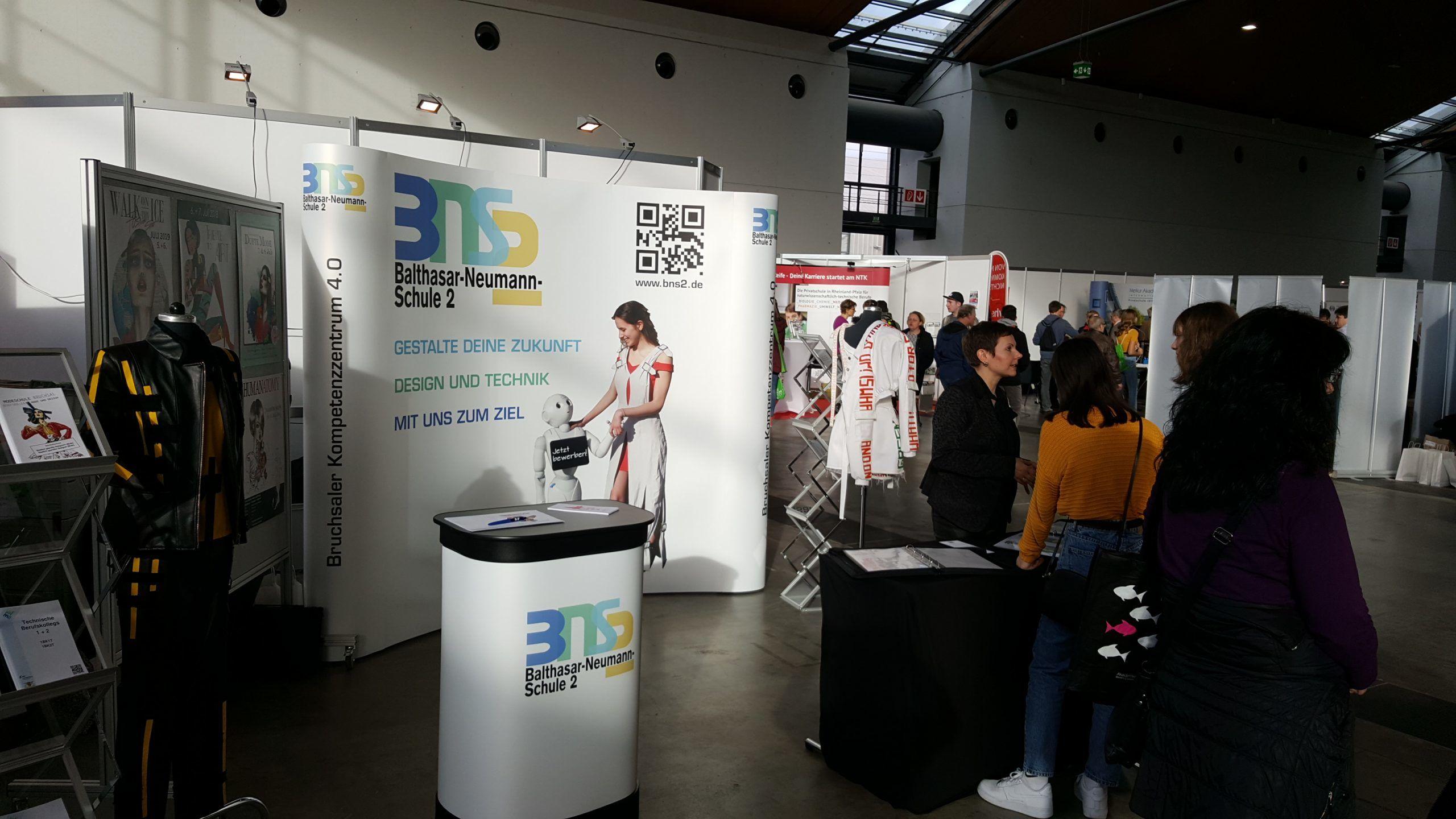 Die BNS2 auf der Messe Einstieg Beruf – Karlsruhe